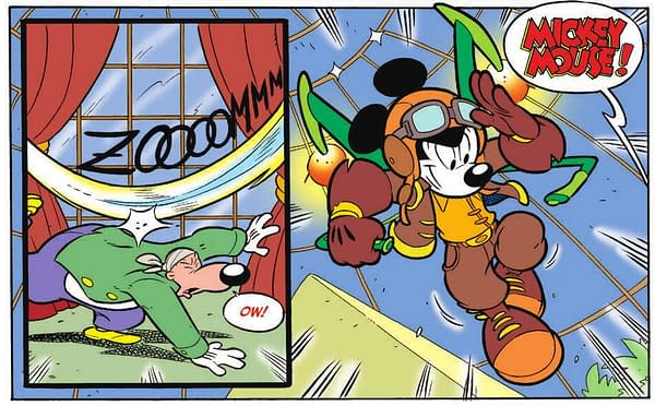 Mickey Mouse Page 18 last panel
