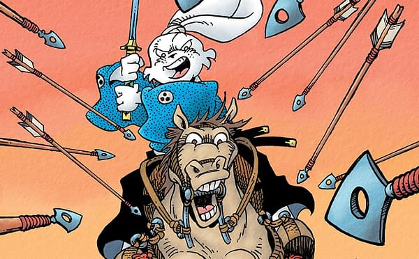 Usagi Yojimbo: The Hidden #1 cover by Stan Sakai and Tom Luth