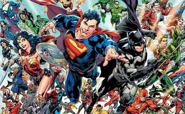 DC Comics Selling Almost Half as Many Comics a Month As It Used To