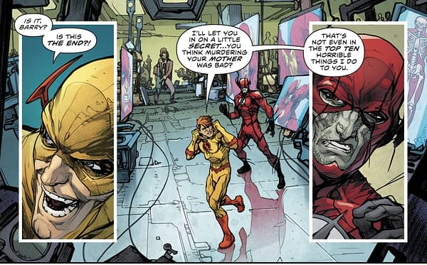 The Quite Definite Death Of [SPOILERS] In Flash #27