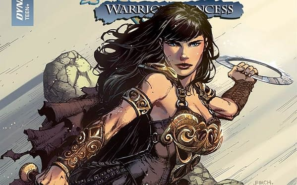 Xena #1 cover by David Finch