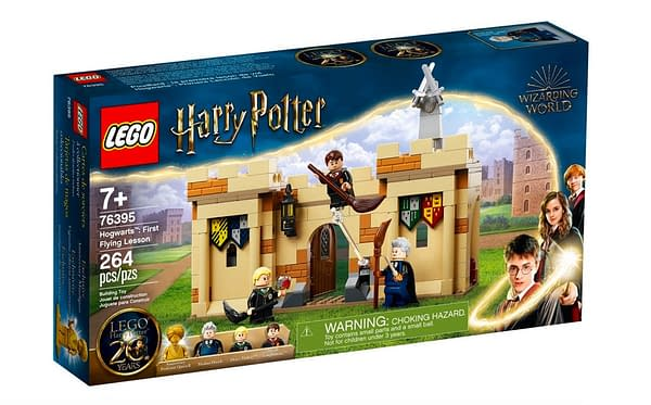 LEGO Returns Harry Potter Fans to Year 1 With New Sets