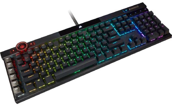 Sorteio: teclado óptico-mecânico CORSAIR K100 RGB para jogos