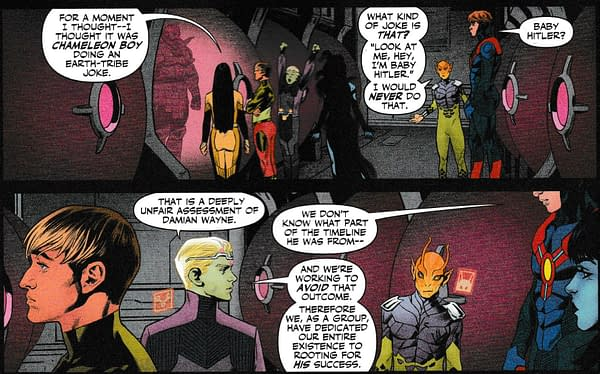 Damian Wayne, Murderer, in Teen Titans #43 - and the Future?