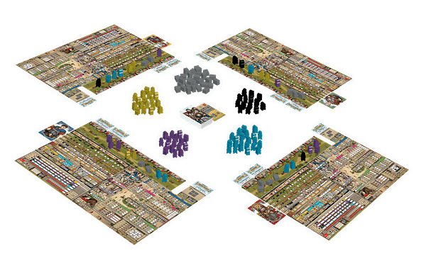 A look at some of the components, courtesy of Renegade Game Studios.