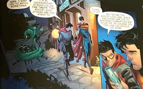 Tom Taylor's Words In Damian Wayne's Mouth In Superman: Son Of Kal-El