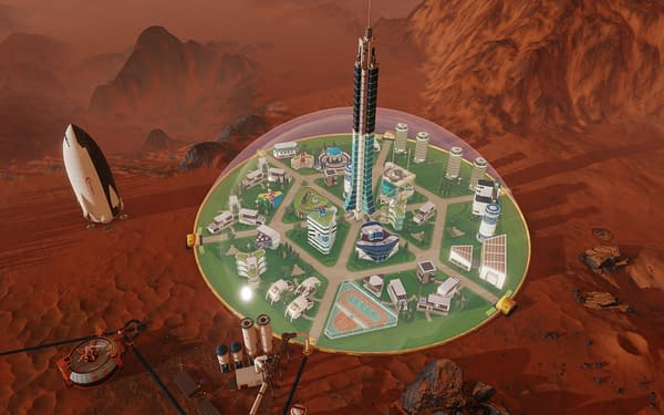 """""""Surviving Mars"""" Receives An """"Evans"""" Update With Some Bug Fixes"""