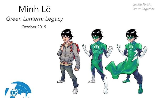 Drawn Together's Minh Lê Brings Us the Youngest Green Lantern, 13-Year-Old Tai