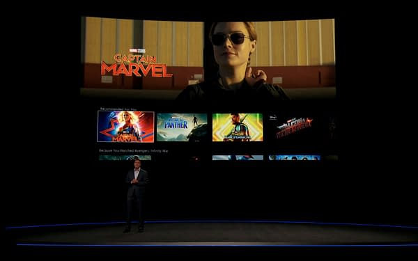Disney Shows Off First Look at Disney+ Streaming Service, Details Some Things