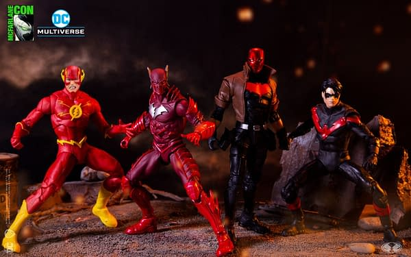 DC Multiverse McFarlane Toys Expands with Animated Cyborg, and More