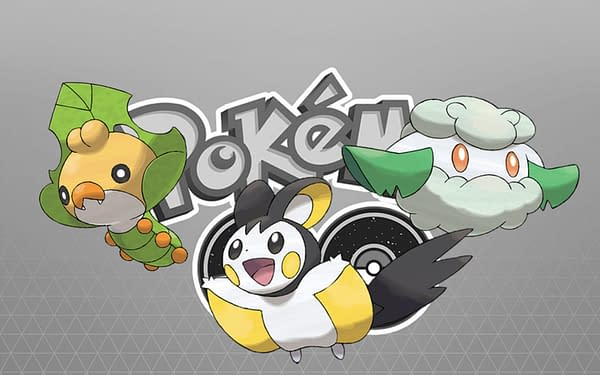 Sewaddle, Cottonee, Emolga Enter Pokémon GO for the Unova Week event. Credit: Niantic and the Pokémon Company