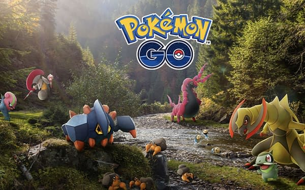 Unova Pokémon will be in raids, but what are the odds of them being Shiny? Credit: Niantic