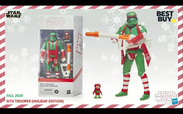 Star Wars Black Series Holiday Troopers Coming This Fall