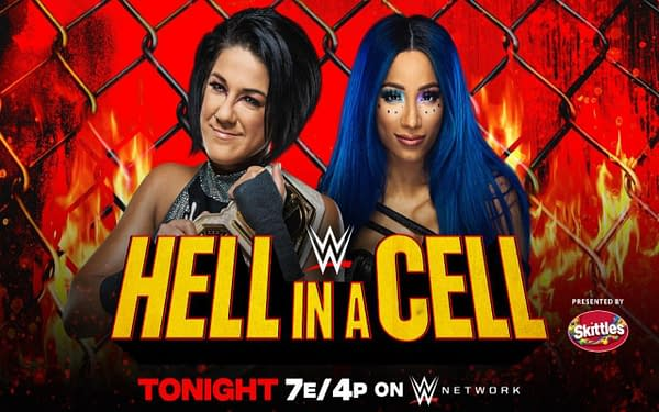 WWE Hell in a Cell 2020 key art (Image: WWE)
