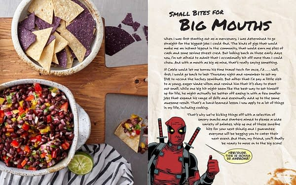 Cooking With Deadpool, In February