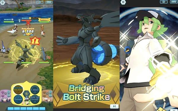Zekrom in Pokémon Masters EX. Credit: DeNA