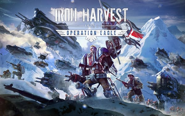 Stand tall with the rest of the Yanks in Iron Harvest: Operation Eagle, courtesy of Deep Silver.