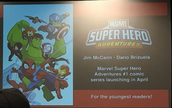 Jim McCann And Dario Brizuela To Launch Marvel Super Hero Adventures In April 2018