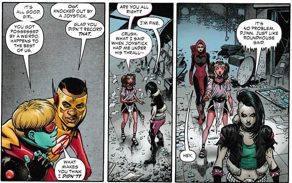 Crush, Lobo's Daughter, is DC's Latest Gay Character (Teen Titans and Mysteries Of Love In Space Spoilers)