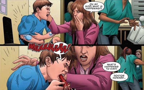 An Anti-Vaxxer's Nightmare in Uncanny X-Men #20