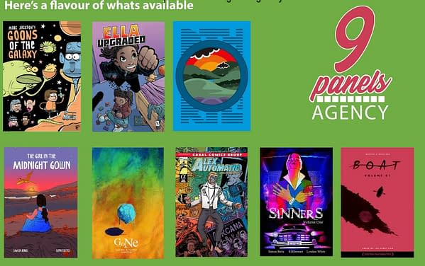 9 Panels Agency, the UK's First Dedicated Graphic Novel Literary Agency Launches