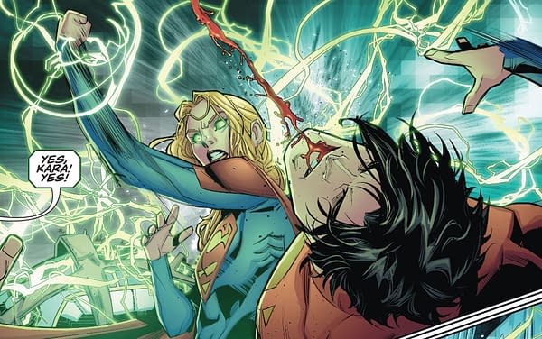Superboy Vs Supergirl in DC Future State Superwoman