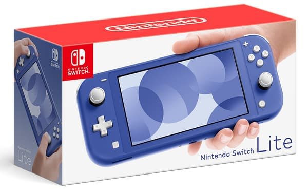 A look at the brand new color being added to the Nintendo Switch Lite line, courtesy of Nintendo.