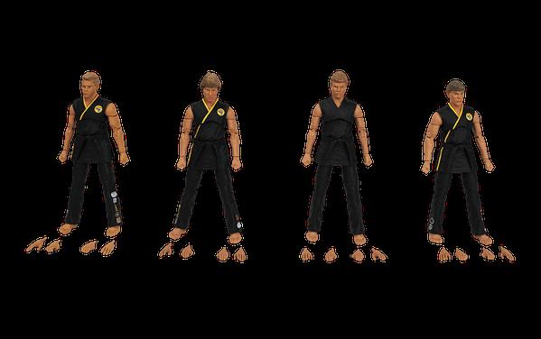 Icon Heroes Reveals The Karate Kid Cobra Kai Team Box Set