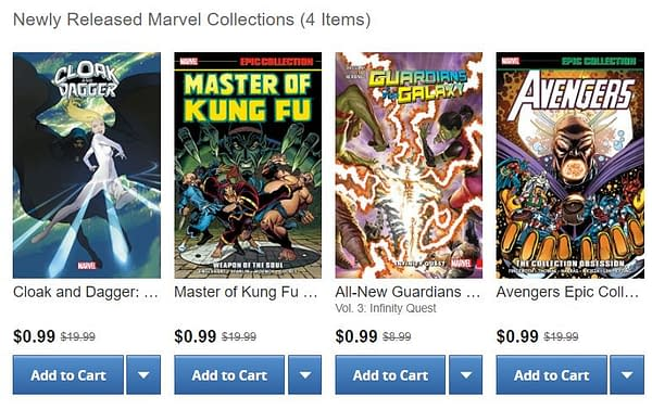The Weirdest Price Discrepancies of Marvel's ComiXology Sale