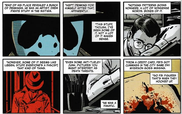 Frank Miller, Otto Binder and Randy Cox in Rorschach #1 (Spoilers)
