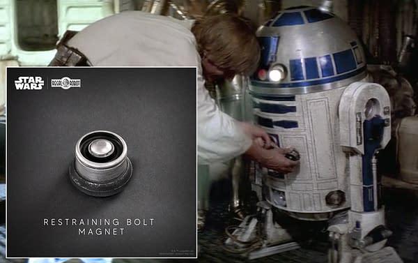 Regal Robot Reveals Star Wars Droid Restraining Bolt Replica