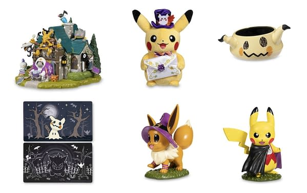 2021 Halloween Collection. Credit: The Pokémon Center