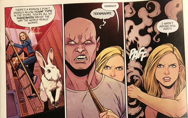 Free Comic Book Day Brings a Very Different Anya to Buffy The Vampire Slayer