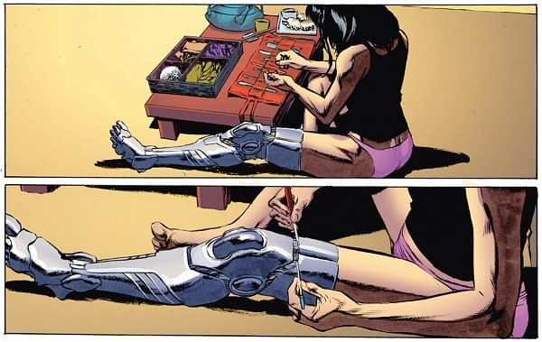 Last Week In Eighteen Panels – And A New Writer For Youngblood