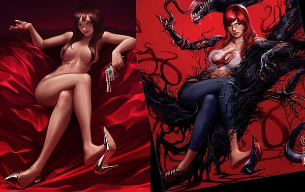 Separated At Birth: Lee JeeHyung's Mary Jane Watson… And Francesco Mattina's Mary Jane Watson