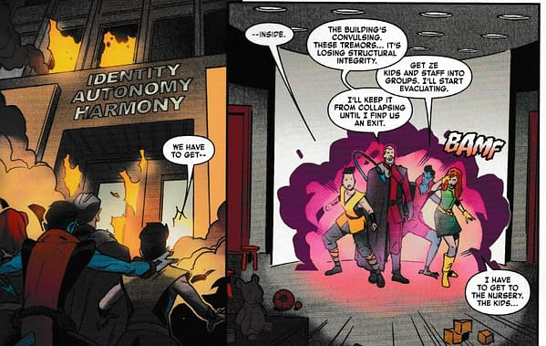 Why Did Nathan Grey Create His Age Of X-Man Like This Then? Marvelous X-Men #1 (Spoilers)