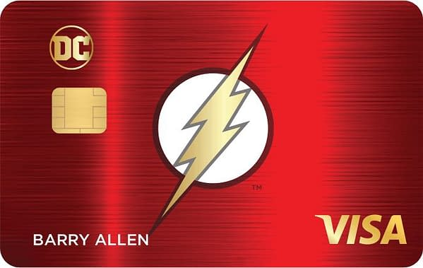 DC Launches Credit Card Line So You Can Actually Afford Comics