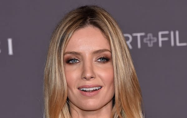 Annabelle Wallis arrives for the 2017 LACMA Art + Film Gala on November 04, 2017 in Los Angeles, CA. Editorial credit: DFree / Shutterstock.com