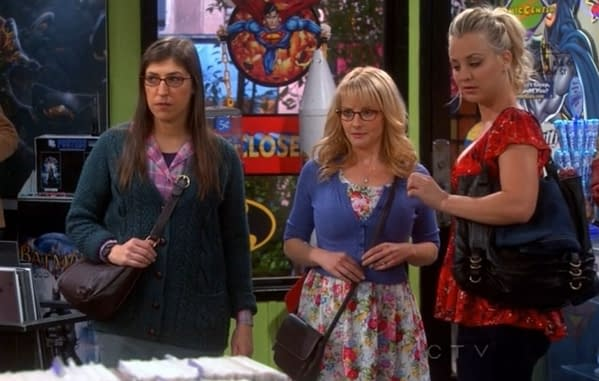 Big Bang Theory In The Comic Shop – The Morning After