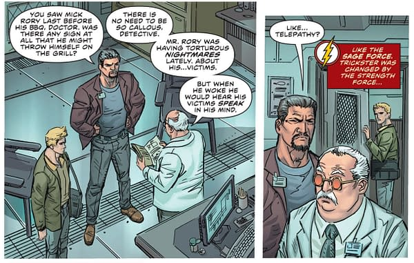 What Is The Sage Force Anyway? Flash #56 Spoilers