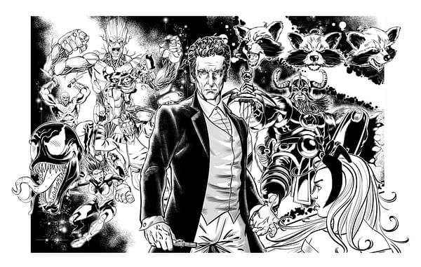 Doctor Who Comics Team Bring Death To Life