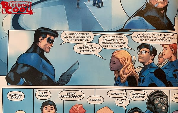 Teen Titans Academy #1 Gives Clue As To Red X's Identity (Spoilers)