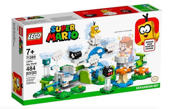 LEGO Announces Super Mario Bros. 2-Player Mario and Luigi Update