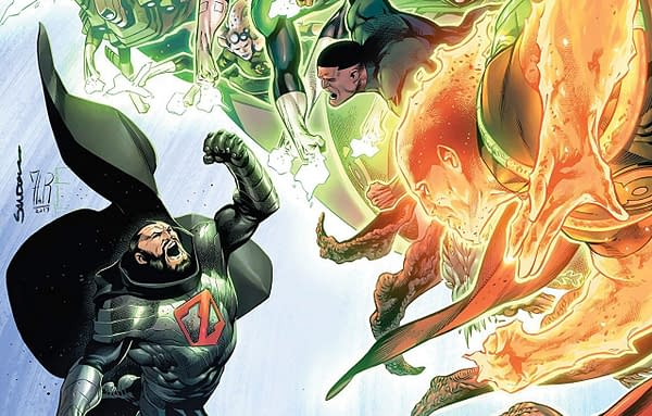 Hal Jordan and the Green Lantern Corps #39 cover by Rafa Sandoval, Jordi Tarragona, and Tomeu Morey