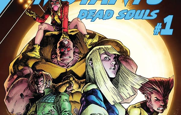 New Mutants: Dead Souls #1 cover by Ryan Stegman and Michael Garland