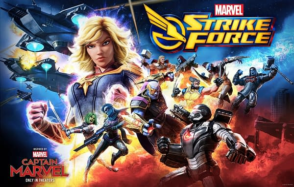 Marvel Strike Force Celebrates First Year Sales and Alliance War Update