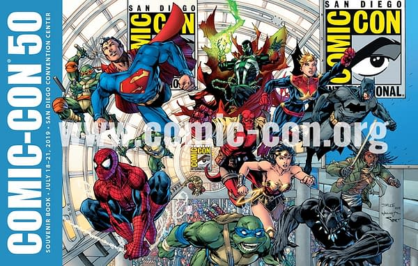 Jim Lee Draws Spider-Man, Michonne and Spawn For San Diego comic-Con's 50th Anniversary