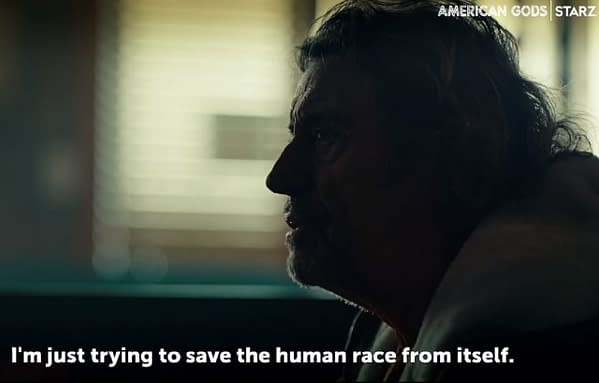American Gods released a new preview for season 3. (Image: STARZ)
