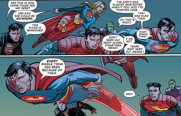 Superman Dreams Of Being A 9/11 Terrorist In Action Comics (Spoilers)