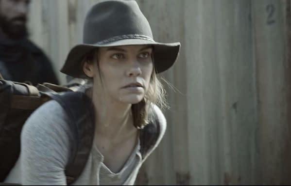The Walking Dead returns February 28. (Image: AMC screencap)